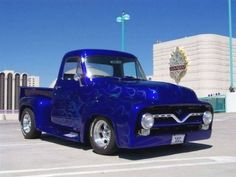 DEAR CAR TALK: Aback Ford alien its new with aluminum anatomy parts, I heard some complaints that some anatomy shops ability not be ab. 56 Ford Truck, Classic Pickup Trucks, Old Ford Trucks, Old Pickup Trucks, Ford Classic Cars, Hot Rod Trucks, Cool Trucks, Big Trucks, Lifted Trucks