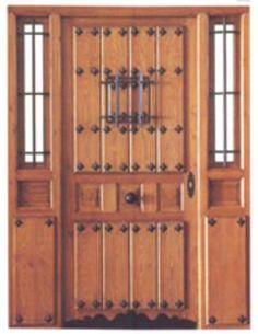 1000 images about puertas rustica exterior on pinterest - Herrajes rusticos para puertas ...