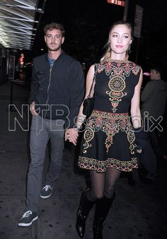 5 November 2015 - Pierre and Beatrice in New York