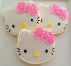 12 Vegan Kitty Inspired Sugar Cookies by CompassionateCake on Etsy