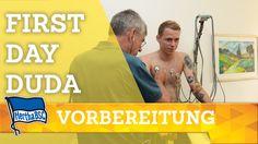 FIRST DAY DUDA + INTERVIEW - Hertha BSC - Berlin - 2017 #hahohe