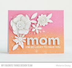 Stitched Blooms Card Kit