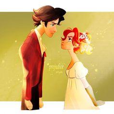 Elizabeth & Darcy at #NetherfieldBall