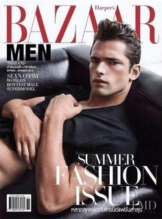 Sean O'Pry photographed by Natth Jaturapahu for the cover of Harper's Bazaar Men (Thailand), Spring/Summer 2014 (version Fashion Mag, Fashion Cover, Men Fashion, Sean O'pry, Cool Magazine, Magazine Covers, R Man, Prom Photos, Down South