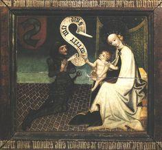 Epitafium Jana z Ujazdu, ok. 1450, tempera na desce, Zamek Królewski na Wawelu, Kraków