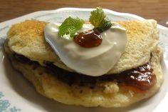 Jak upéct lívance s ovesnými vločkami   recept Pancakes, Pudding, Breakfast, Food, Morning Coffee, Custard Pudding, Essen, Pancake, Puddings