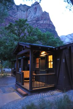 Zion Cabin in the Wood
