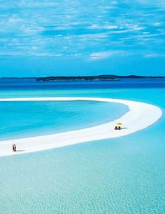 Take me to Paradise or a private island of Musha Cay in the Bahamas. The private island is in the Exuma Chain, Southern Bahamas and located 85 miles southeast of Nassau. It is owned by illusionist David Copperfield. Vacation Places, Dream Vacations, Vacation Spots, Places To Travel, Places To See, Travel Destinations, Holiday Destinations, Family Vacations, Cruise Vacation