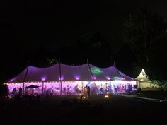 Inspired Event Structures Sail Cloth structure putting the WOW factor into Simon and Katie's wedding #wedding #sailcloth #marquee