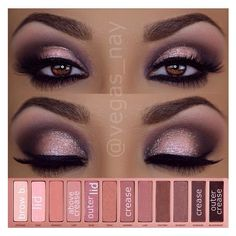 Urban Decay Naked3 Tutorial