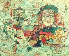 carmen cereceda - muralista chilena