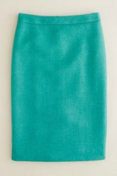 teal, teal, teal for spring and my favorite jcrew skirt this season. I would pair it with a cutout back white t-shirt, silver sandal, and one of my coral necklace creations! #JCREW   #MYSHOESTORY