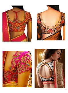 d96c0d6abf See all the latest Banarasi Saree Blouse design of 2017 for neck and back  neck, in different patterns made of Chanderi, Silk, Brocade, and more  fabrics.