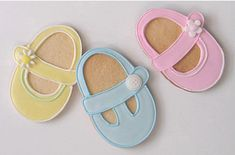 shoe bootie baby shower favor
