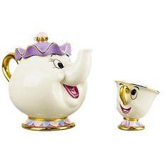 Cartoon-Beauty-And-The-Beast-Teapots-Mug-Mrs-Potts-Chip-Tea-Pot-and-Cup-Set