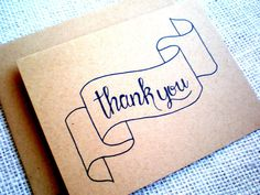 New Pack 8 Thank You Notes Cards w//envelopes Card Sent Checklist Included