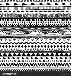 aztec patterns to draw - Google Search