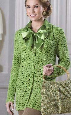 Crochet jacket — Crochet by Yana