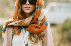 Style Lesson - 50 Chic & Creative Ways to Wear a Scarf