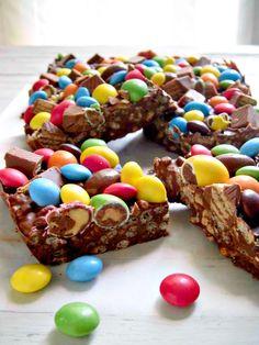 chocolate crunch bars homemade