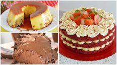 7 Recheios para Ovos de Páscoa de colher - Amando Cozinhar: Receitas Fáceis e rápidas Cheesecake, Cupcakes, Red Velvet, Mousse, Donuts, Bakery, Dessert Recipes, Candy, Eat