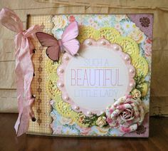 So very pretty...paper bag book.