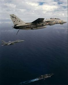 Grumman F-14A Tomcats of VF-2