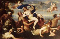The triumph of Galatea, Luca Giordano