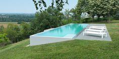Backyard Pool Designs, Small Backyard Pools, Small Pools, Swimming Pools Backyard, Swimming Pool Designs, Outdoor Pool, Backyard Landscaping, Luxury Swimming Pools, Natural Swimming Pools