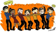 PARTY LIKE IT'S Spock finds this fascinating. Star Trek Party Line Star Trek Party, Dance, Stars, Fictional Characters, Funny Stuff, Deviantart, Funny, Dancing, Funny Things