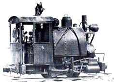 Porter Locomotive - The company's locomotives were small enough that they were often operated by only one person. Porter built mostly steam locomotives, but they also built some powered by gasoline and diesel engines, and some that ran on compressed air.