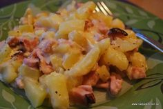 5 tips på vad du kan göra med resterna av din julskinka – Nadjaskitchen. Potato Salad, Bacon, Food And Drink, Lunch, Ethnic Recipes, September, Sweets, Snacks, Drinks