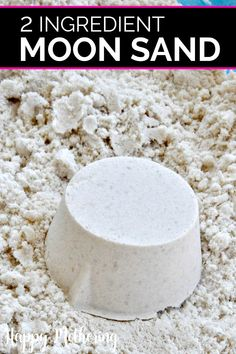 Are you looking for a fun sensory activity to keep your kids busy? This DIY moon sand uses only 2 ingredients for hours of fun! Are you looking for a fun sensory activity to keep your kids busy? This DIY moon sand uses only 2 ingredients for hours of fun! Moon Activities, Summer Activities, Craft Activities, Camping Activities, Toddler Activities, Sensory Activities For Preschoolers, Space Activities For Kids, Space Preschool, Babysitting Activities