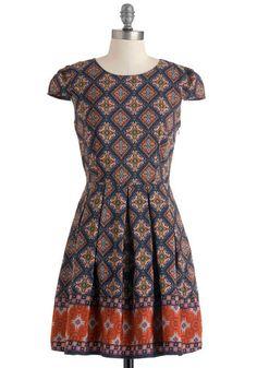 Call Them Like Museum Dress, #ModCloth