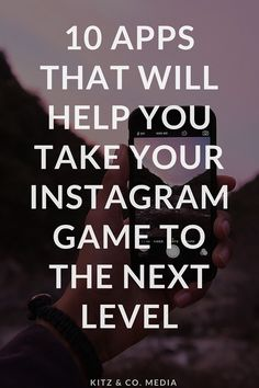 Tips from businesses who are kicking butt on Instagram + a list of awesome apps.