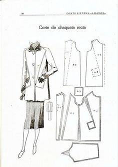 modelagem_1 - costurar com amigas - Picasa Web Albums Easy Sewing Patterns, Clothing Patterns, Fabric London, Vintage Dress Patterns, Sewing Art, Pattern Drafting, Sewing Techniques, Sewing Clothes, Fashion Ideas