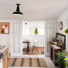 kitchen interior design in india Elegant Home Decor, Elegant Homes, Diy Home Decor, Farmhouse Style Kitchen, Modern Farmhouse Kitchens, Farmhouse Decor, Shabby Chic Homes, Shabby Chic Decor, Interior Design Kitchen