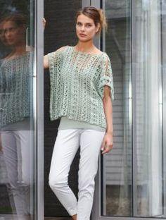 Crochet top - Free pattern download.