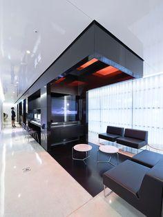 Hyundai Card Air Lounge at the Incheon Airport.