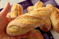Pan di Pane: Ricetta Mini Baguettes.