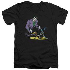 Batman/Detective #69 Cover Short Sleeve Adult T-Shirt V-Neck in