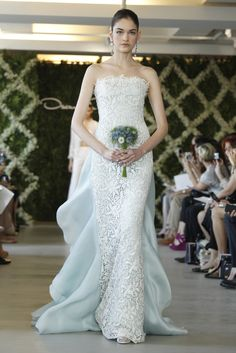 2013 wedding dress trend two tone bridal gowns light gray blue ivory lace