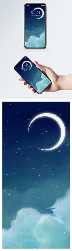 night moon mobile wallpaper