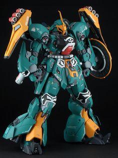 Custom Build: MG 1/100 JAGD SINANJU [19th All Japan Ora-Zaku Championships] Gundam Toys, Gundam Art, Gundam Mobile Suit, Gundam Custom Build, Cool Robots, Gunpla Custom, Mecha Anime, Robot Design, Mechanical Design