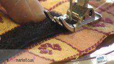 Envie de refaire une fermeture sur un sac ou une pochette ? Faites vous-même votre fermeture en scratch ! Evelyne Lohier, créatrice de la marque « L Brode pour Léo », vous explique comment coudre du scratch sur un tissu avec une machine à coudre. C'est très simple, il suffit de suivre l'explication de notre experte et vous pourrez coudre correctement votre fermeture en scratch. Pour cela, regardez la vidéo et à vous de jouer !