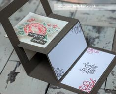 Mother's Day Card made using Birthday Blooms From Stampin' Up! - with Michelle Last
