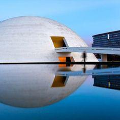 Niemeyer's Brasília photographed  by Andrew Prokos