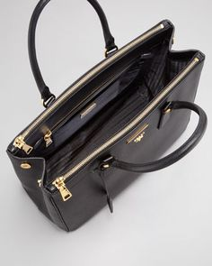 Prada Double Zip Executive Tote I am straight up obsessing over this bag right now...