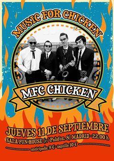 Entradas para MFC Chicken en Madrid el 11 de septiembre 2014 en notikumi