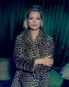 Kate Moss Poses for Venetia Scott in Centrefolds F/W 2012 Cover Shoot